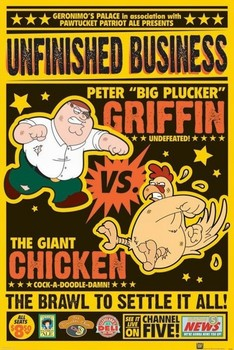Juliste FAMILY GUY - chicken fight