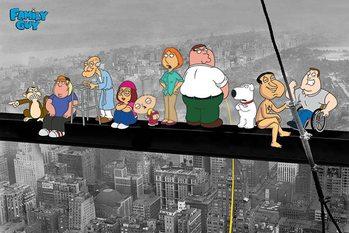 Juliste  FAMILY GUY - on a skyscraper