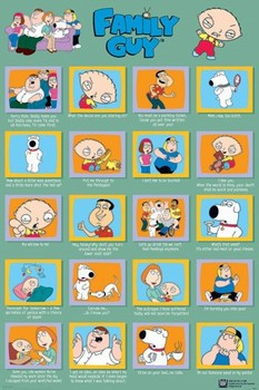 Juliste FAMILY GUY - quotes