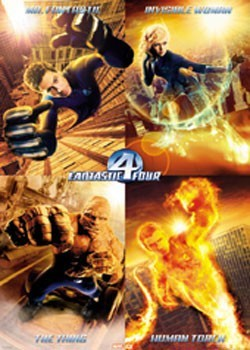 Juliste  FANTASTIC FOUR  - Team