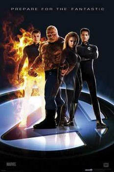 Juliste  FANTASTIC FOUR - teaser