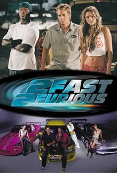 Juliste Fast and Furious 2