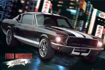 Juliste Fast and Furious - Ford Mustang
