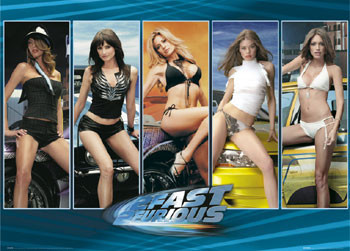Juliste FAST AND FURIOUS - girls