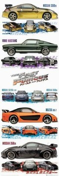 Juliste Fast and Furious Tokyo