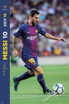 Juliste  FC Barcelona 2017/2018  - Messi Accion