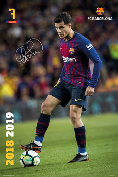 Juliste  FC Barcelona 2018/2019 - Coutinho