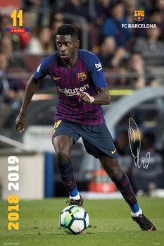 Juliste  FC Barcelona 2018/2019 - Dembele