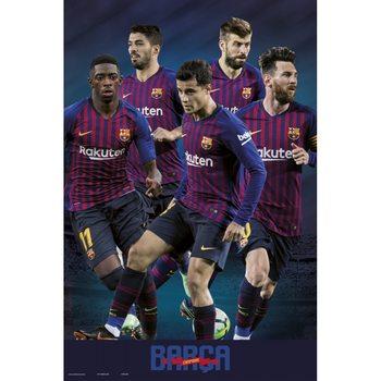 Juliste  FC Barcelona 2018/2019 - Grupo