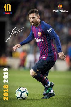 Juliste  FC Barcelona 2018/2019 - Messi Accion