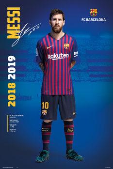 Juliste  FC Barcelona 2018/2019 - Messi Pose