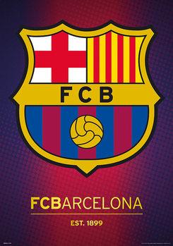 Juliste FC Barcelona - Crest