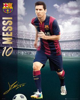 Juliste FC Barcelona - Messi 14/15