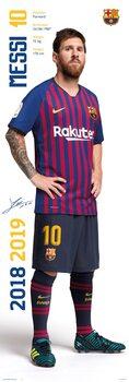 Juliste FC Barcelona - Messi 2018/2019