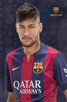 Juliste FC Barcelona - Neymar Jr.