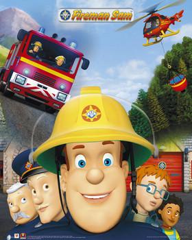 Juliste Fireman Sam
