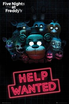Juliste Five Nights at Freddy's - Help Wanted
