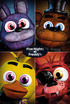 Juliste Five Nights At Freddy's - Quad