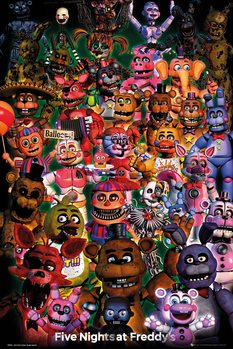Juliste Five Nights At Freddy's - Ultimate Group