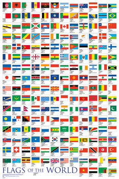 Juliste Flags - Of The World 2017