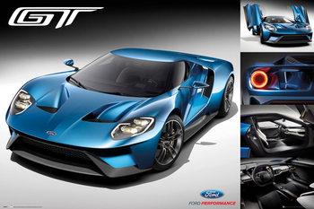 Juliste  Ford - GT 2016