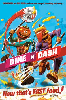 Juliste  Fortnite - Dine and Dash
