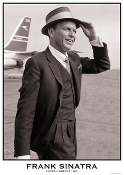 Juliste  Frank Sinatra - London Airport 1961