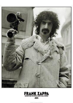 Juliste Frank Zappa - Banned Albert Hall 1971