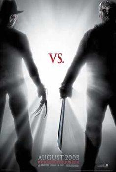 Juliste Freddy vs. Jason