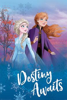Juliste  Frozen: huurteinen seikkailu 2 - Destiny Awaits