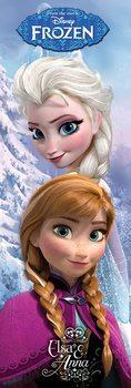 Juliste  Frozen: huurteinen seikkailu - Anna & Elsa