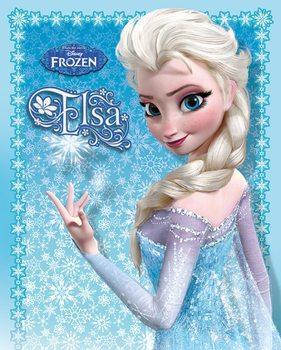 Juliste Frozen: Huurteinen seikkailu - Elsa