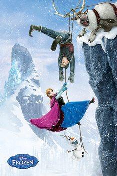 Juliste Frozen: huurteinen seikkailu - Hanging