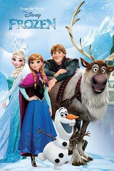 Juliste Frozen: huurteinen seikkailu - Lakeside