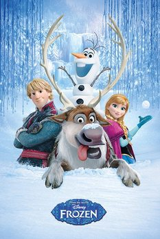 Juliste  Frozen: huurteinen seikkailu - Snow Group