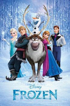 Juliste  Frozen: Huurteinen seikkailu - Teaser