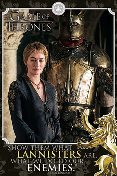 Juliste  Game of Thrones - Cersei Tyrion