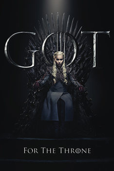 Juliste Game Of Thrones - Daenerys For The Throne