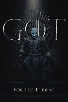 Juliste  Game Of Thrones - Night King For The Throne