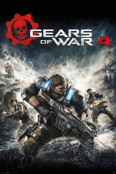 Juliste  GEARS OF WAR 4 - Game Cover