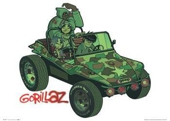 Juliste  Gorillaz - album