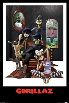 Juliste  Gorillaz - family portrait