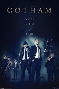 Juliste Gotham - Justice