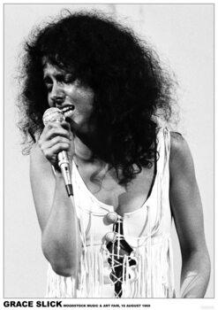 Juliste Grace Slick - Woodstock 1969