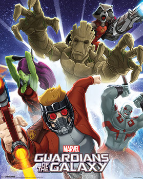 Juliste  Guardians Of The Galaxy - Burst