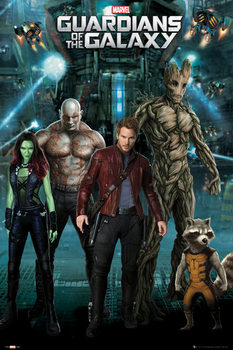 Juliste Guardians of the Galaxy - Group