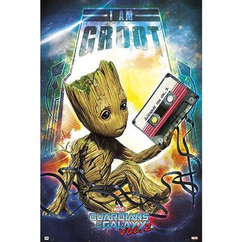 Juliste Guardians Of The Galaxy - I am Groot