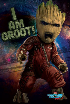 Juliste Guardians Of The Galaxy Vol. 2 - Angry Groot
