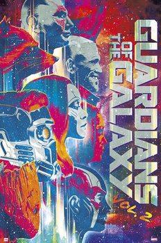 Juliste  Guardians Of The Galaxy Vol 2
