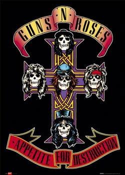 Juliste  Guns'n'Roses - appetite